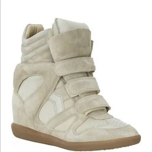 Isabel Marant sneaker with hidden wedge